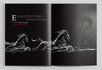 数码器材宣传册-西安德隆音响画册设计
