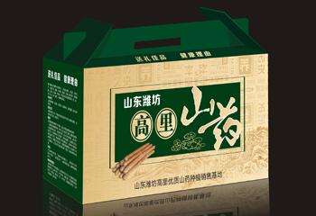 健康食品包装-山药礼盒包装设计