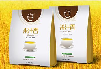 五谷杂粮食品包装-米汁香系列包装设计