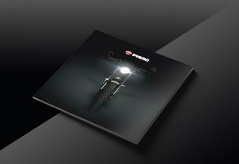 高端机车宣传册-摩托车画册设计