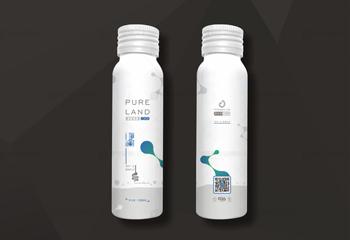 健康饮品包装-净澜复合益生菌包装设计