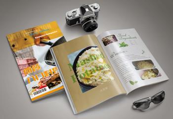 《西餐入门料理》美食画册设计