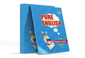 中小学生英语教材-封面设计