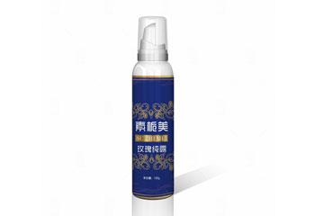 素栀美包装瓶贴设计